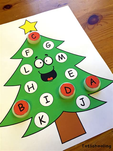 free tree letter matching a to m great winter and christmas tree learning activities for toddlers prek