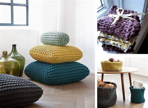 Knitting Home Decor Knit Home Decor 28 Images Knitted Home Decor Interior Design Trend Design Knitting Home
