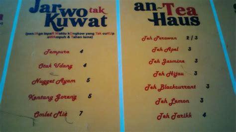 buat kartu nama yogyakarta warung vulgar di yogya kini ubah nama menu ini daftar