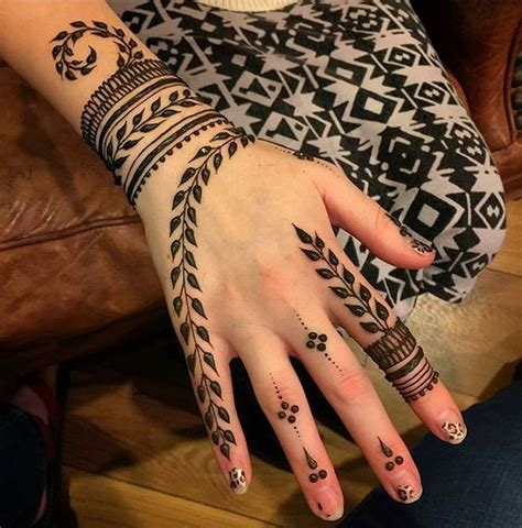 design com henna 20 elegant modern minimalist henna designs wedandbeyond