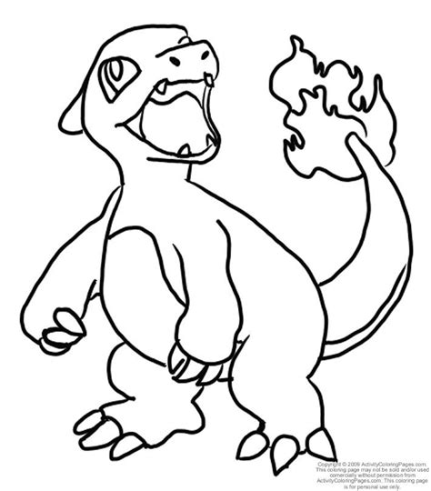 N Charizard Coloring Pages Charizard Coloring Page