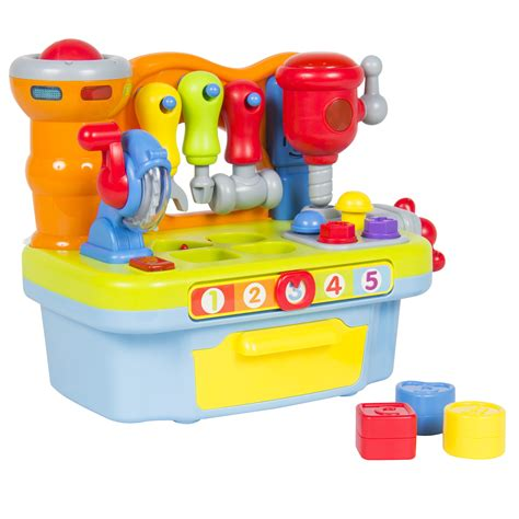 work bench toy musical learning pretend play tool workbench toy fun
