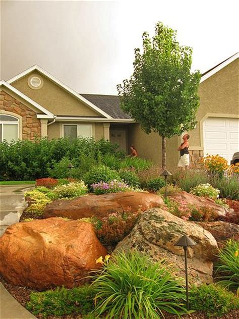 Rock Garden Front Yard Rock Garden For Area Between Sidewalk And Rock Garden Ideas Pinterest Rocks Front