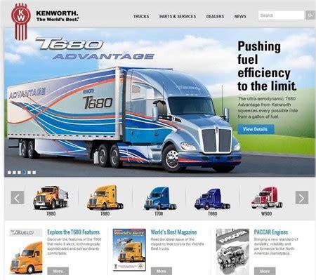 kenworth website kenworth trucks the s best