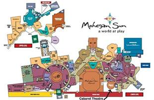 mohegan sun casino floor plan image gallery mohegan sun map
