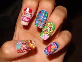 pics photos candy color decoraci nail art