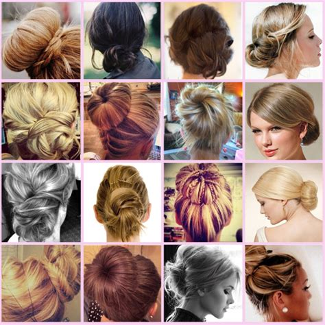 is putting hair in a bun a new fad diy hair buns