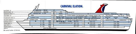 carnival imagination floor plan carnival imagination cruise ship deck plan deckplans lines