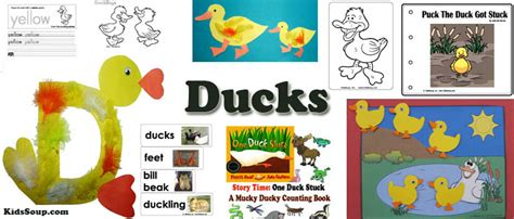activities and crafts ducks crafts activities lessons and printables