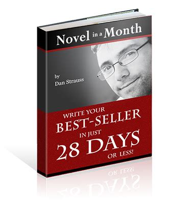 In A A Novel novel in a month how to write a novel in 30 days or less