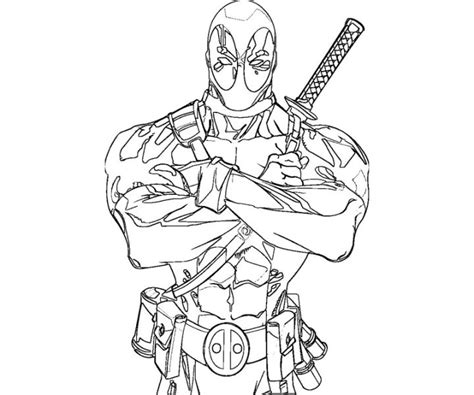 deadpool coloring pages www pixshark com images