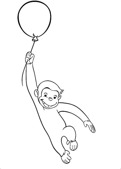 curious george coloring pages birthday icing idea for birthday cake birthday time pinterest