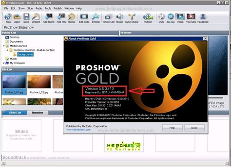 proshow gold full version software free download proshow producer free download and software