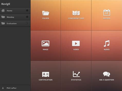 app design navigation 1000 images about tablet ui navigation on pinterest