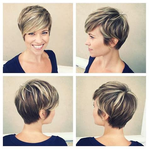 platinum pixi cut with brown highlights 25 best ideas about pixie highlights on pinterest pixie