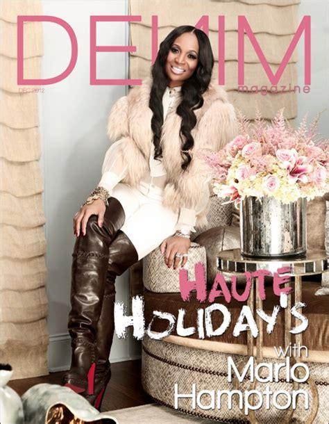 hot atlanta hair styles magazine still around marlo hton flaunts her fashion in denim