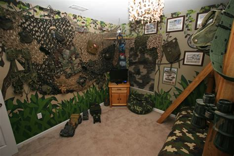 camouflage decorations for room   DSNY Home 1 Pictures