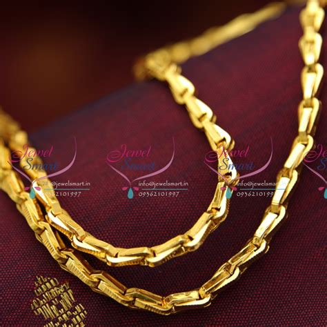 gold black chains models c4255 gopi chain 24 inches length daily wear
