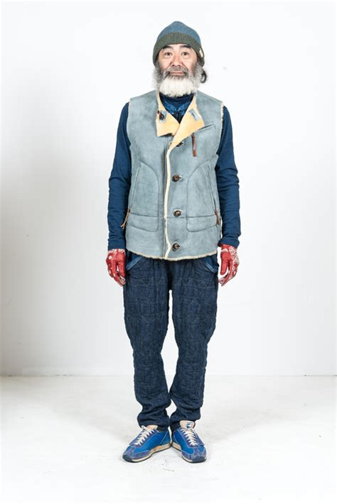 menswear denim winter 2015 trends kapital clothing fall winter 2015 collection long john