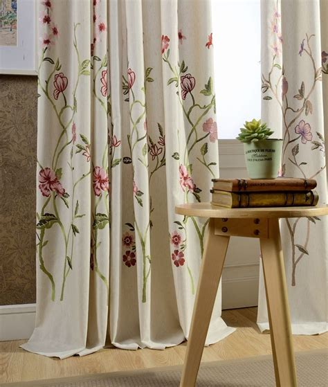 french country curtains custom french country victorian floral rose embroidered
