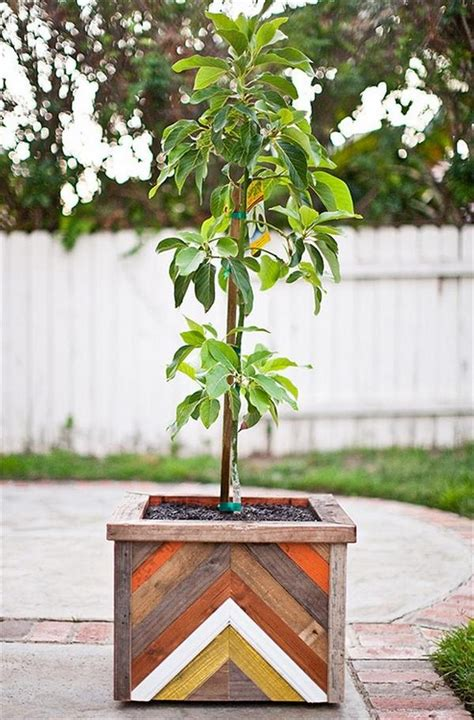 Wooden Planters For Trees by Planter Boxes Made From Wooden Recycled Things