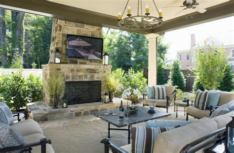 outdoor living room elegant backyards