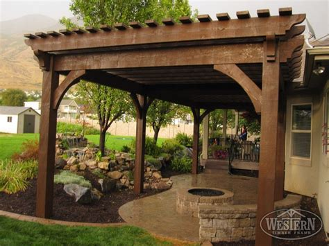 atkinson pergola patio fire pit the great outdoors