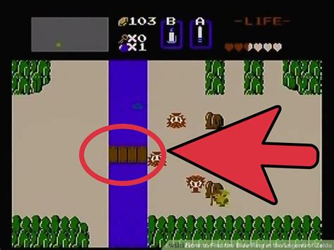 legend of zelda map blue ring how to find the blue ring in the legend of zelda 9 steps
