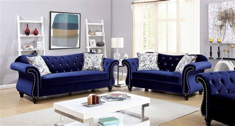blue living room furniture jolanda living room set blue living room sets living