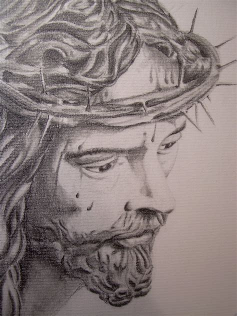 imagenes de jesus a lapiz ars tattoo dibujo cristo de la sed sevilla