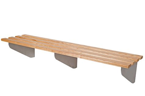 wall bench classic aero wall mounted changing room bench benchura