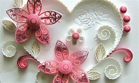 Paper Craft Design - quilling decoration ideas