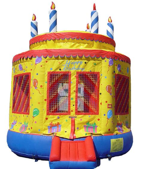 Bouncing Houses For Birthday by Birthday Cake Bounce House Maine New Hshire
