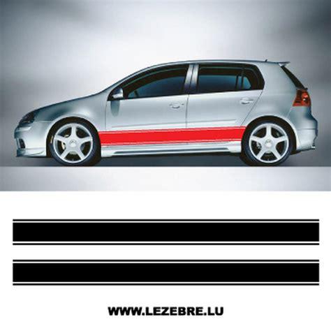 Porsche Aufkleber Seitlich by Kit Stickers Bandes Seitenleiste Auto