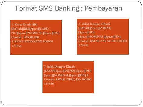 format sms banking bni bayar kartu kredit flowchart e banking m token dan sms banking