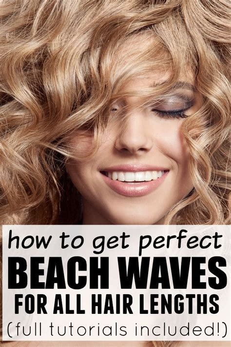 how to get beach waves for short hair with no heat how to get perfect beach waves medium length hairs