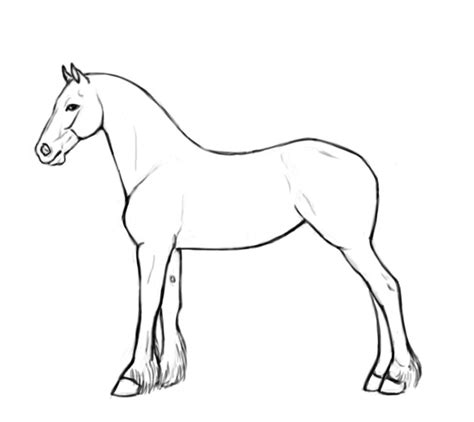 best photos of printable horse template horse template