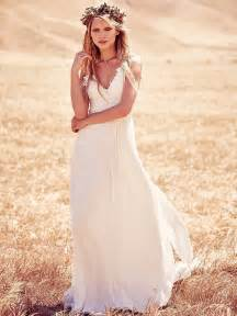 boho wedding dresses boho chic wedding dresses for summer 2017 fashiongum