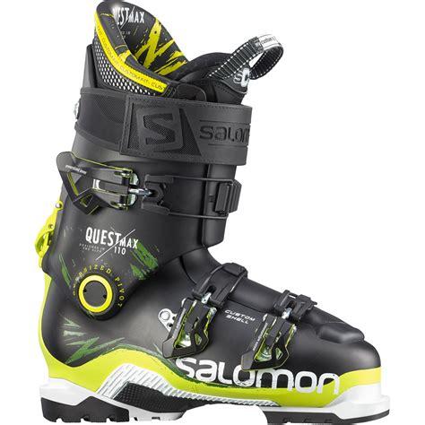 salomon ski boots salomon quest max 110 ski boots 2015