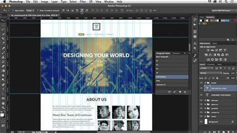 pattern photoshop web how to add the final touches to your design in photoshop