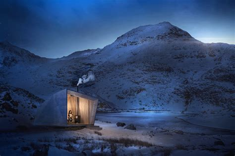Arthurs Cabin by Arthur S Cave Cabin By Miller Kendrick Hiconsumption