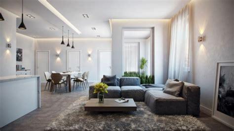 inneneinrichtung wohnzimmer modern modernes apartment mit atemberaubender inneneinrichtung in