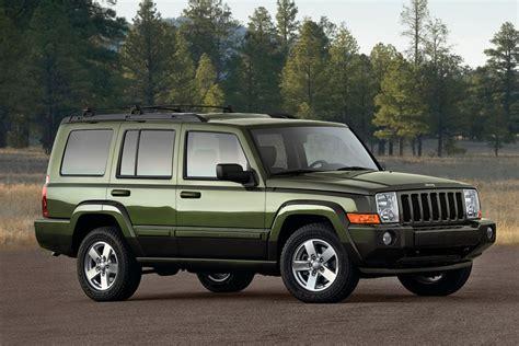 jeep commander vs liberty jeep commander sport utility models price specs reviews