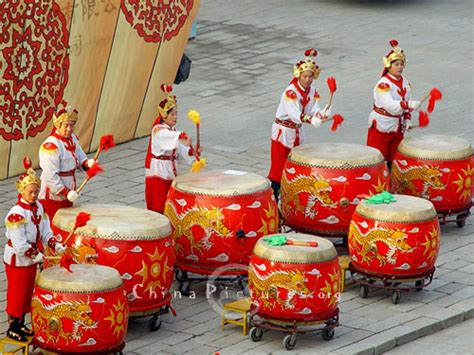new year drum celebration of new year and the beginning of
