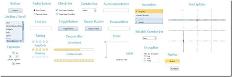 xaml templates free free office 2010 blue theme for wpf and silverlight