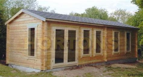log cabin uk 8 5x3 5 watford log cabin hortons portable buildings