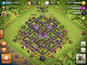 Level 9 town hall defense clash of clans level 9 base design