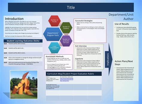 University Of Hawaii At Manoa Assessment Office Department Presentation Templates