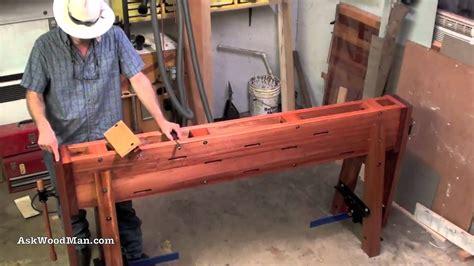 build  roubo work bench askwoodman style