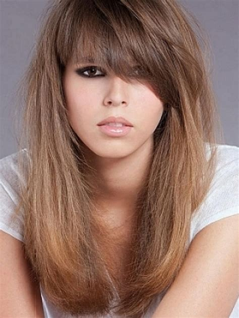 7 Different Styles Of Bangs by Medium Haircuts With Bangs How Do You Want To Look In